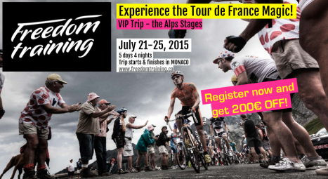 VIP TOUR DE FRANCE CYCLING TRIP